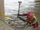 sauvetage chien pompier eau