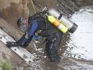 sauvetage chien sous l'eau