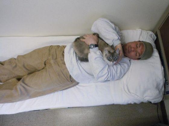 chat et prisonnier