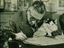 Sartre, chat, star