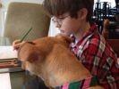 un chien miraculé devient le meilleur ami d'un enfant autiste