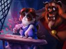 Grumpy Cat Belle et la Bête