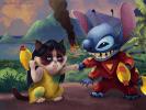 Grumpy Cat Lilo et Stitch