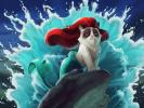Grumpy Cat Petite sirène
