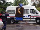 chien policier intervention photo