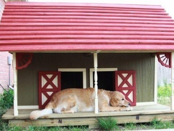la niche fa on ranch 19 niches originales que vous allez absolument vouloir pour votre chien. Black Bedroom Furniture Sets. Home Design Ideas