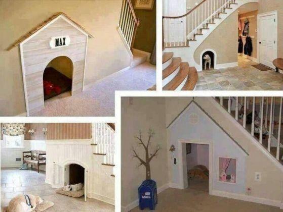 une niche sous l 39 escalier 19 niches originales que vous allez absolument vouloir pour votre. Black Bedroom Furniture Sets. Home Design Ideas