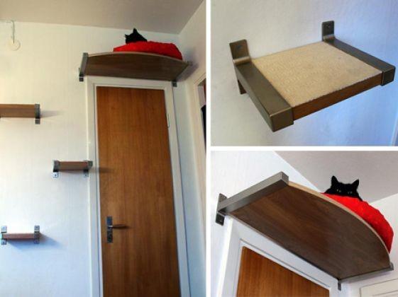 des tag res escalier du mobilier pour chat original photos page 3 wamiz. Black Bedroom Furniture Sets. Home Design Ideas