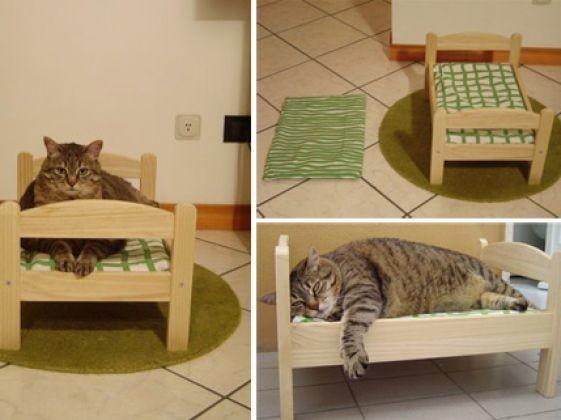 le lit du chat du mobilier pour chat original photos. Black Bedroom Furniture Sets. Home Design Ideas