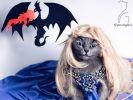 Pitrzush joue à la princesse retenue par un dragon