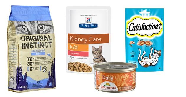 Alimentation pour chats