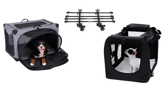 Cages, sacs de transport pour chien