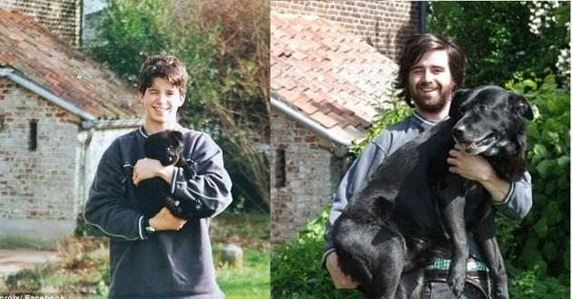 Gordon et son chien