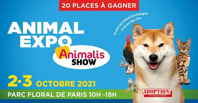 Concours pour le salon Animal Expo 2021
