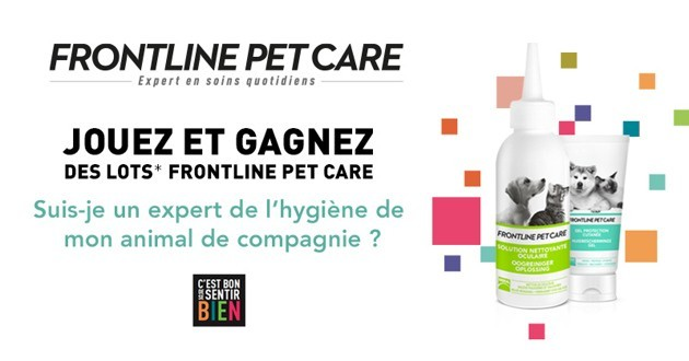Concours Frontline Pet Care