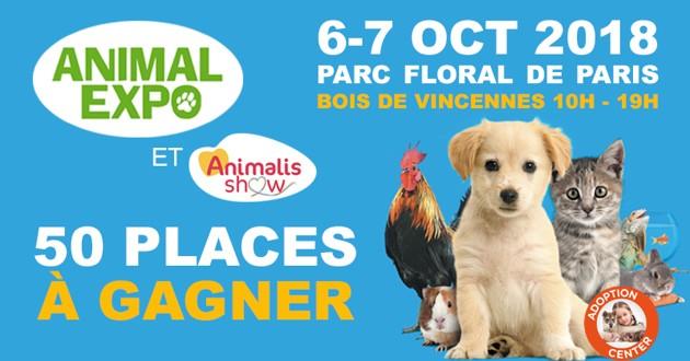 Salon Animal Expo jeu concours