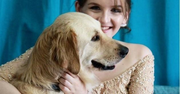 Un chien admirable sauve le bal de promo de sa maîtresse de la plus belle des façons