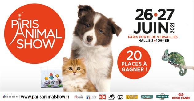 Concours salon Paris animal show 2021
