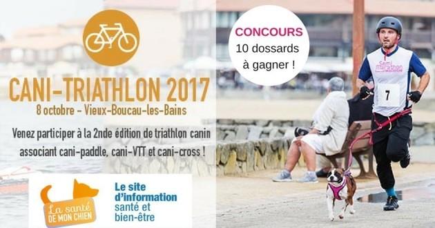 concours cani-triathlon
