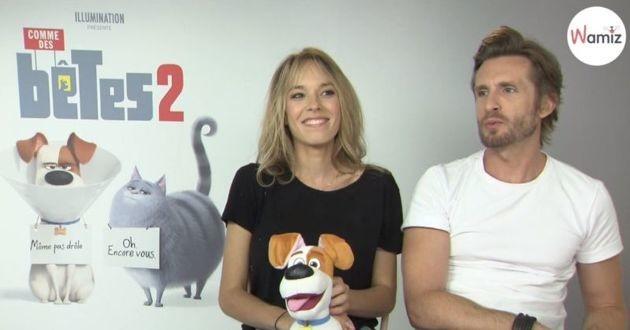 Elodie Fontan et Philippe Lacheau, comme des bêtes 2