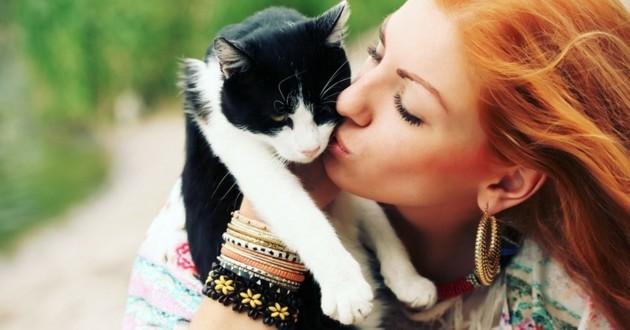 pourquoi les chats refusent les bisous comportement chat