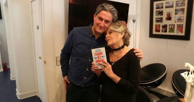 Christophe Marie et Brigitte Bardot