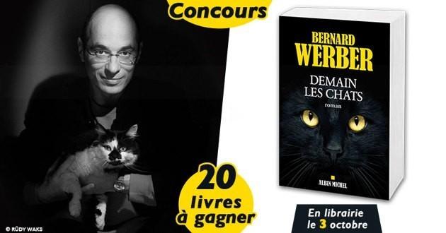 Concours demain les chats Bernard Werber