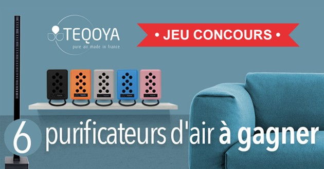 Purificateur d'air Teqoya