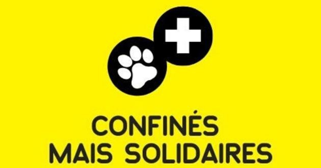 confinés mais solidaires