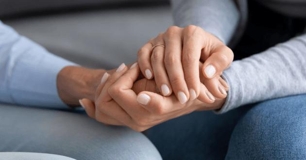 mains soutien