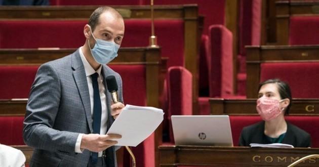 le député Dimitri Houbron