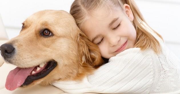 enfant chien