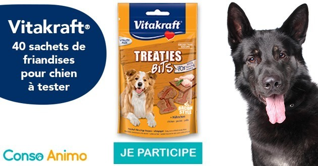 friandises pour chien conso animo