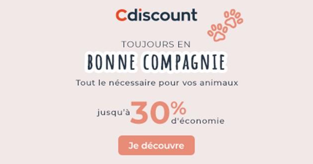 """""""Toujours en bonne compagnie'"""" : Nouveaux bons plans animaux sur Cdiscount"""