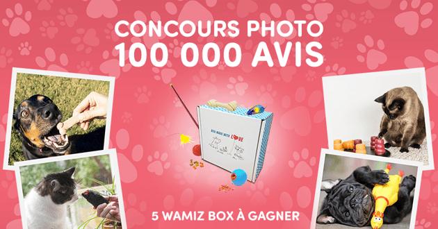 Concours photo sur Conso Animo : remportez une Wamiz Box !