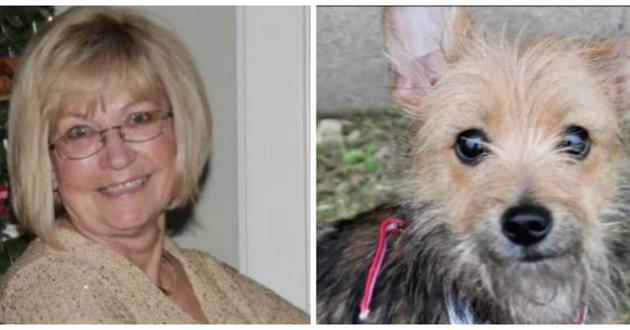 femme adoption chien