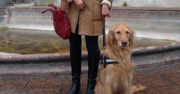 florie et son chien guide