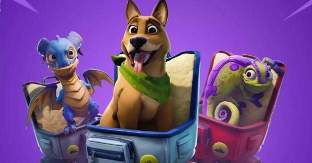 Un mode pour caresser les chiens dans Fortnite