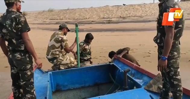 équipe de sauvetage en Inde