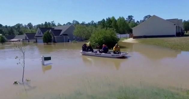 Inondation ouragan Matthew