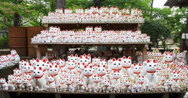 temple de Gotokuji japon