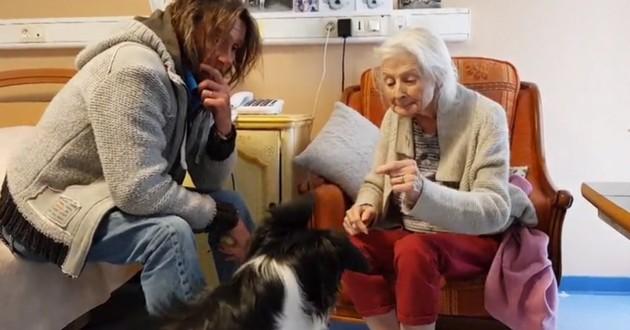 josette Alzheimer chien de thérapie