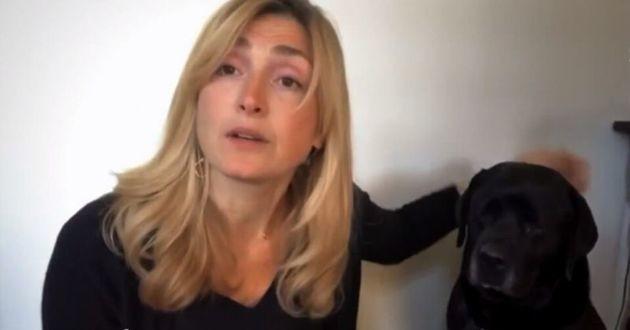 Julie Gayet et Philae le labrador de François Hollande