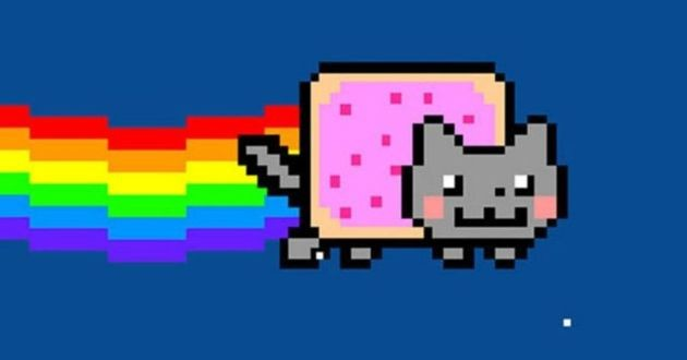 video / gif nyan cat