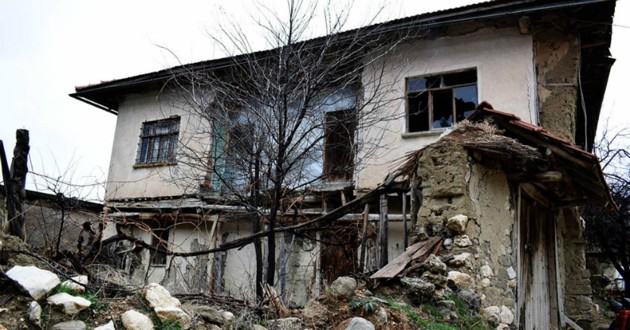 maison abandonnée en espagne