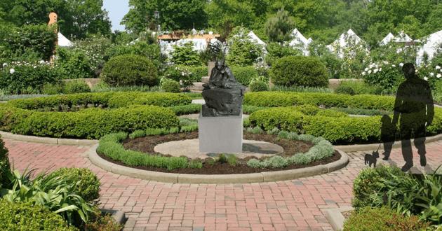 Memorial en hommage aux chiens