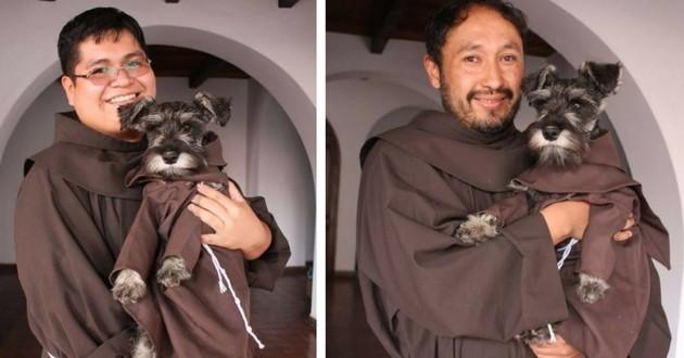 Frère Moustache moine monastère Bolivie