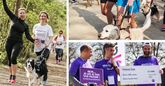 Wamiz Run cani-marche solidaire chiens guides