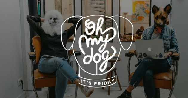 oh my dog it's friday officeriders