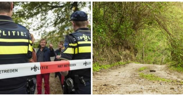 police dans forêt